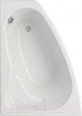 Ванна акриловая Cersanit Sicilia 140x100 (левая)