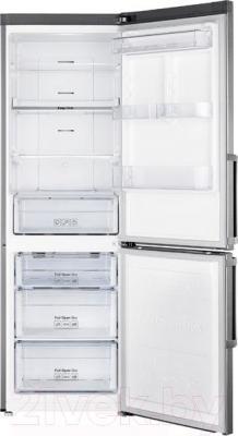 Холодильник с морозильником Samsung RB33J3320SA/WT