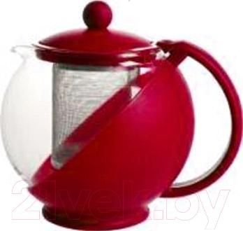 Заварочный чайник Irit KTZ-075-003 (красный)