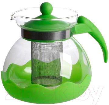 Заварочный чайник Irit KTZ-15-004 (зеленый) - общий вид (цвет товара уточняйте при заказе)