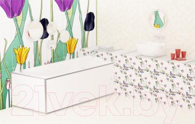 Экран для ванны МетаКам Премиум А 1.68 (белый) - вместе с ванной