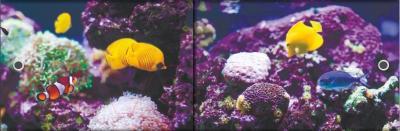 Экран для ванны МетаКам Ультра легкий Арт 1.48 (подводный мир)