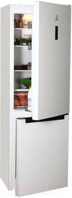 Холодильник с морозильником Indesit DF 5180 W