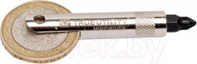 Брелок-мультиинструмент True Utility Minidriver TU231 - способ использования с монеткой