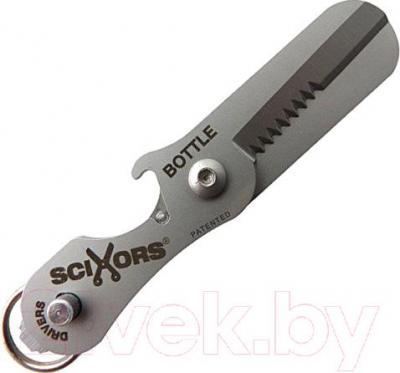 Брелок-ножницы True Utility Scixors TU238 - в собранном виде