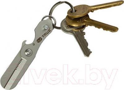 Брелок-ножницы True Utility Scixors TU238 - пример крепления к ключам