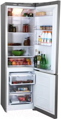 Холодильник с морозильником Indesit DFE 4200 S