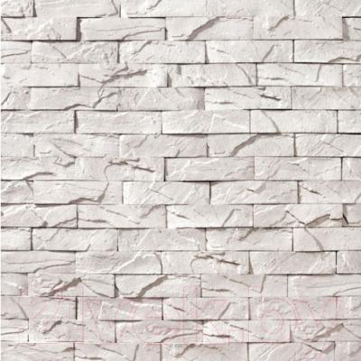 Декоративный камень Royal Legend Вавилон белый 03-010 (240x60x07-15)