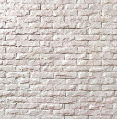Декоративный камень Royal Legend Мирамар узкий белый 07-010 (200x50x07-15)