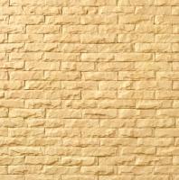 Декоративный камень Royal Legend Мирамар узкий желтый 07-140 (200x50x07-15) -