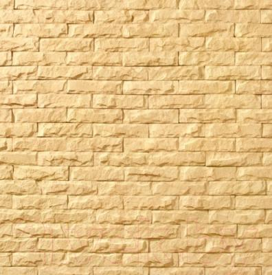 Декоративный камень Royal Legend Мирамар узкий желтый 07-140 (200x50x07-15)