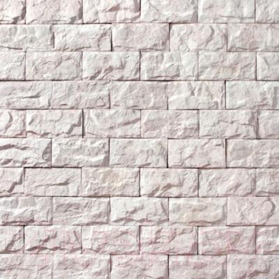 Декоративный камень Royal Legend Мирамар широкий белый 08-010 (200x100x07-15)
