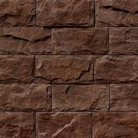 Декоративный камень Royal Legend Мирамар широкий серо-коричневый 08-680 (200x100x07-15) -