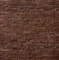 Декоративный камень Royal Legend Шамбор коричневый 09-780 (200x50x04-07) -