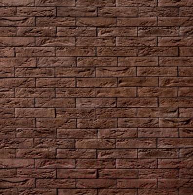 Декоративный камень Royal Legend Шамбор коричневый 09-780 (200x50x04-07)
