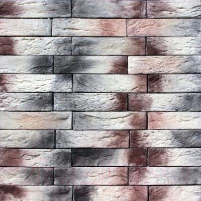 Декоративный камень Royal Legend Шамбор бежево-коричневый с серым 09-189 (200x50x04-07)