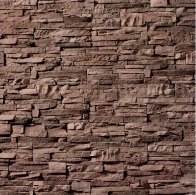 Декоративный камень Royal Legend Петра серо-коричневый 02-680 (297x97x15-20)