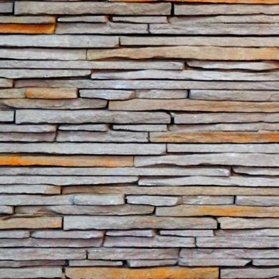 Декоративный камень Royal Legend Сиенна серый с древесным 21-471 (485x150x15-25)