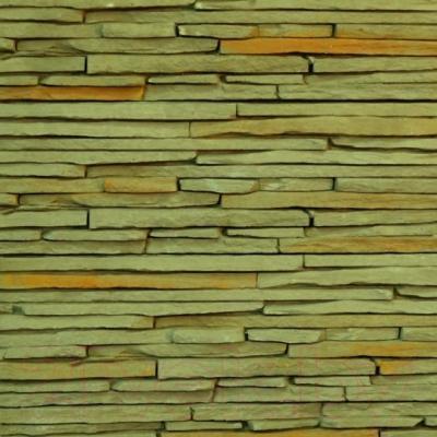 Декоративный камень Royal Legend Сиенна темно-оливковый 21-651 (485x150x15-25)