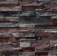 Декоративный камень Royal Legend Кармиель бежево-коричневый с серым 23-189 (337x95x5-18) -