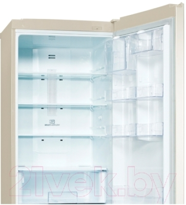 Холодильник с морозильником LG GA-B419SEQL