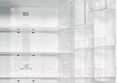 Холодильник с морозильником LG GA-B419SMQL - холодильная камера