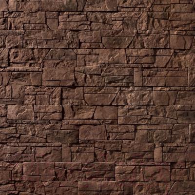 Декоративный камень Royal Legend Коста-Брава коричневый 11-780 (485/290/185x97x15-20)