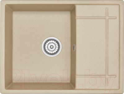 Мойка кухонная Granula GR-6501 (песочный)