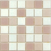Мозаика стеклянная М-Витреа Steam 08 (322x322) -