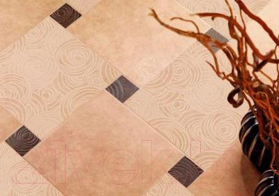 Декоративная плитка ColiseumGres Пьемонтэ Камелия (300x300, бежевый)
