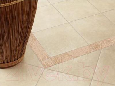 Декоративная  плитка для пола ColiseumGres Пьемонтэ Камелия (300x72, бежевый)