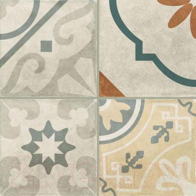 Декоративная  плитка для пола Italon Артворк Пэчворк (300x300)