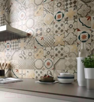 Декоративная плитка Italon Артворк Пэчворк (300x300)