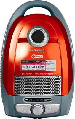 Пылесос Redmond RV-310 (красный)