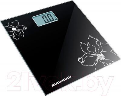 Напольные весы электронные Redmond RS-708 (черный)
