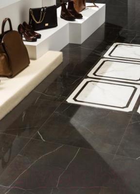 Плитка для пола Italon Шарм Блэк Рет. (600x600)
