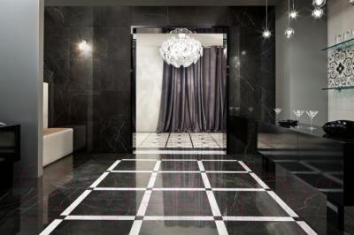 Декоративная  плитка для пола Italon Шарм Блэк (600x72)