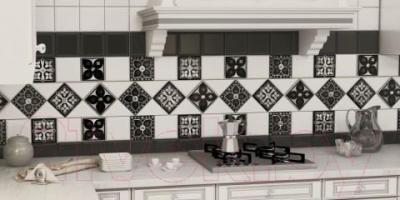Декоративная плитка для кухни Monopole Etna Gold B (150x150)