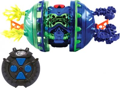 Радиоуправляемая игрушка Silverlit Боевые головы 82347 - синяя боевая голова с пультом