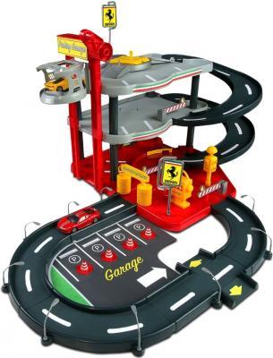 Паркинг с 2 машинками Bburago Ferrari City Garage (18-31204) - общий вид