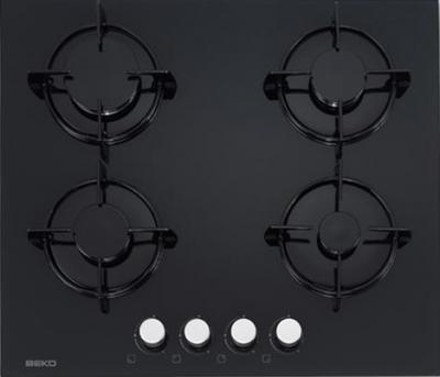 Газовая варочная панель Beko HISG 64220 S - общий вид