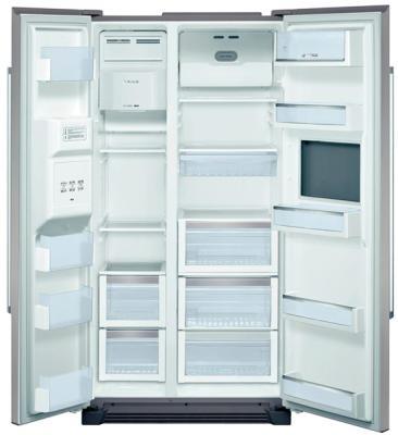 Холодильник с морозильником Bosch KAN60A45RU - вид изнутри