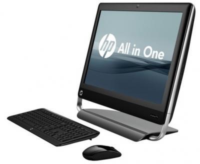Готовое рабочее место HP Touchsmart 7320 EU (QB350EA) - общий вид
