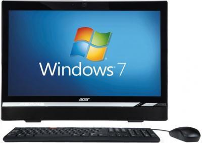 Моноблок Acer Aspire Z1620 (DQ.SMAME.001) - фронтальный вид