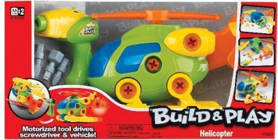 """Набор для сборки Keenway Вертолет """"Build&Play"""" 11923 - упаковка"""