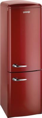 Холодильник с морозильником Gorenje RKV60359OR - общий вид