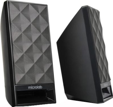 Мультимедиа акустика Microlab B-53 (черный) - общий вид