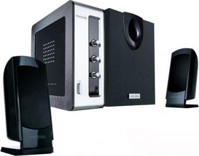 Мультимедиа акустика Microlab M 900 (черно-серебристый) - общий вид
