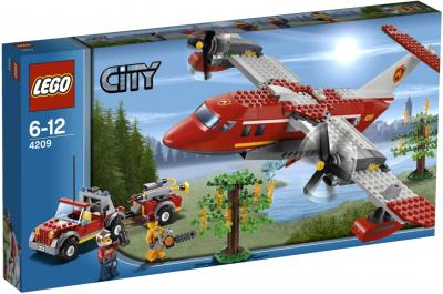 Конструктор Lego City Пожарный самолёт (4209) - упаковка