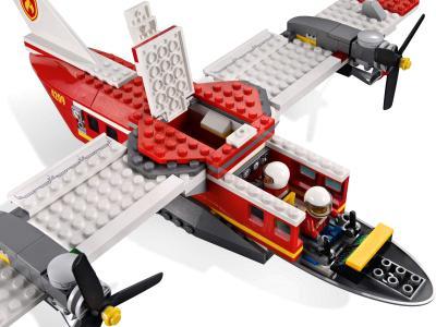Конструктор Lego City Пожарный самолёт (4209) - пожарный самолёт с открытой кабиной